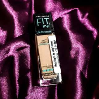 310 SUN BEIGE MAYBELLINE FIT ME PORELESS FOUNDATION