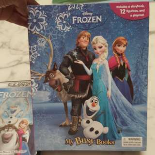 Disney Frozen Book and DVD