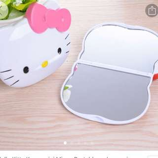 hello kitty portable mirror