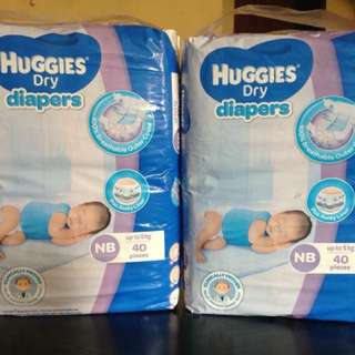 Huggies New Born 40's
