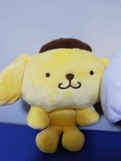Sanrio soft toy pompompurin