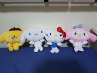 Sanrio soft toy plushie set
