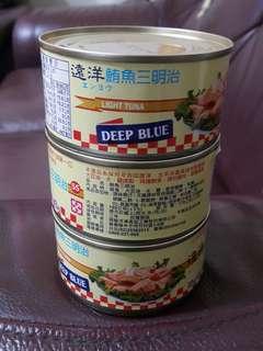 //特賣// #遠洋 鮪魚三明治 罐頭 ☆另有特惠價:一箱$840 ($35/罐)
