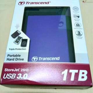 1TB Transcend Portable Hard Drive