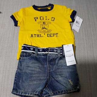 Ralph Lauren 2 Piece Set