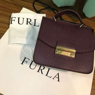 FURLA Julia Mini Top Handle Satchel