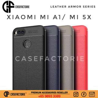 Casefactorie Leather Armor Xiaomi Mi5x/A1 Case