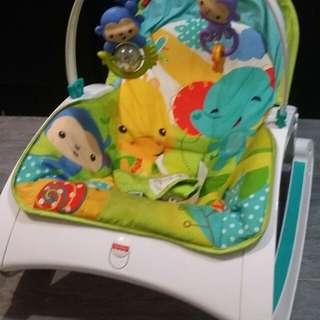 Baby Rocker Fisher Price dan Kelambu Baby