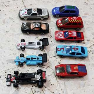 Lot of 10 Diecasts toy mimi cars
