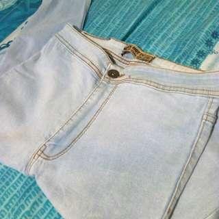 RUSH!!! High Waist Punny Jeans (w/ freebie)