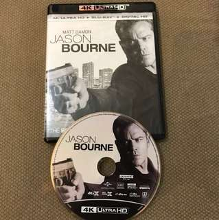 (4k Disc Only) Jason Bourne 4K Disc