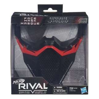Current PageBack to Outdoor Play  Nerf Rival Precision Battling Face Mask - Red