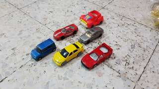 Lot of 6 diecast toy cars