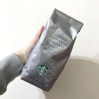 星巴克 耶誕濃縮烘培咖啡豆