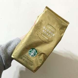 星巴克 耶誕黃金烘培咖啡豆