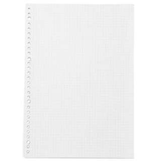 muji loose leaf papers grid / lined