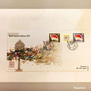 FDC World Stamp Exhibition 2015