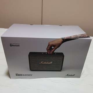 Brand new Marshall Acton Bluetooth Speaker (Black)