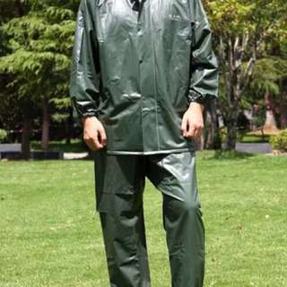 Rain coat 100% water proof green size M and L