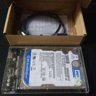 external hard drive 500gb