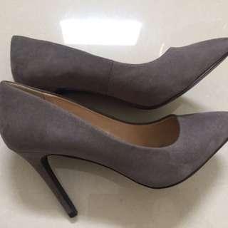 Forever 21 pump heels grey