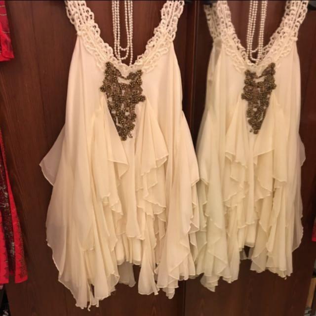 高質量,多層次雪紡洋裝