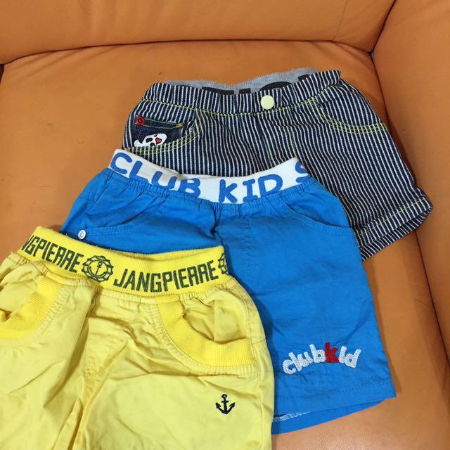 幼童褲(三件一起出售)