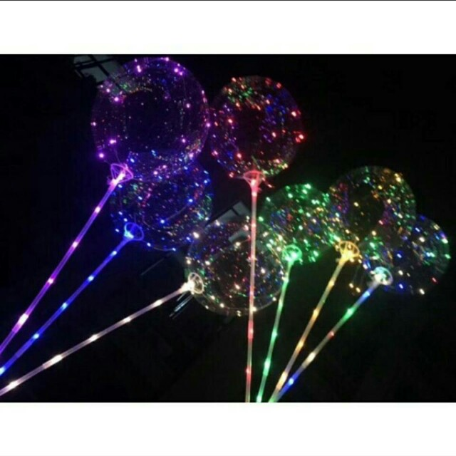 燈光氣球(彩色)