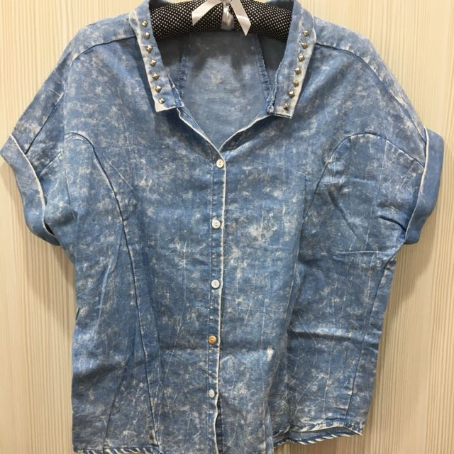 牛仔襯衫/罩衫