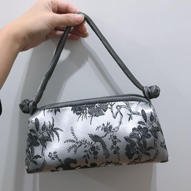 中國刺繡手提包