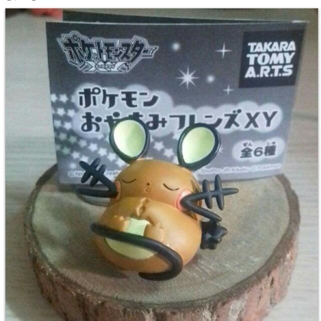 寶可夢 皮卡丘 神奇寶貝 咚咚鼠 扭蛋 轉蛋 公仔