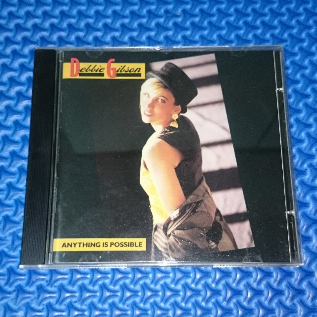 🆒 Debbie Gibson - Anything Is Possible [1990] Audio CD