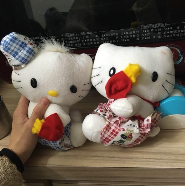 正品 hello kitty 玩偶 娃娃 凱蒂貓