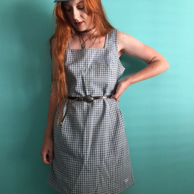 ⚡️ Vintage checkered dress. ⚡️