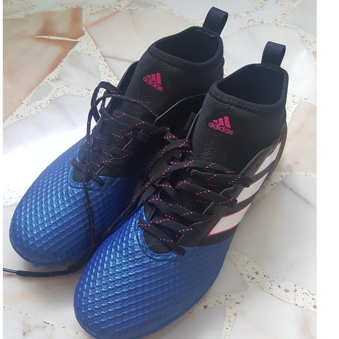 finest selection 63ef2 d8508 Adidas Ace 17.3 Primemesh TF Turf 2017 Soccer Shoes [Black ...