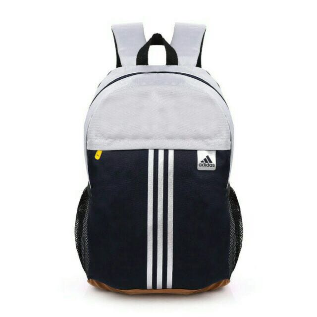 Adidas Inspired Backpack Ready stock Grey color