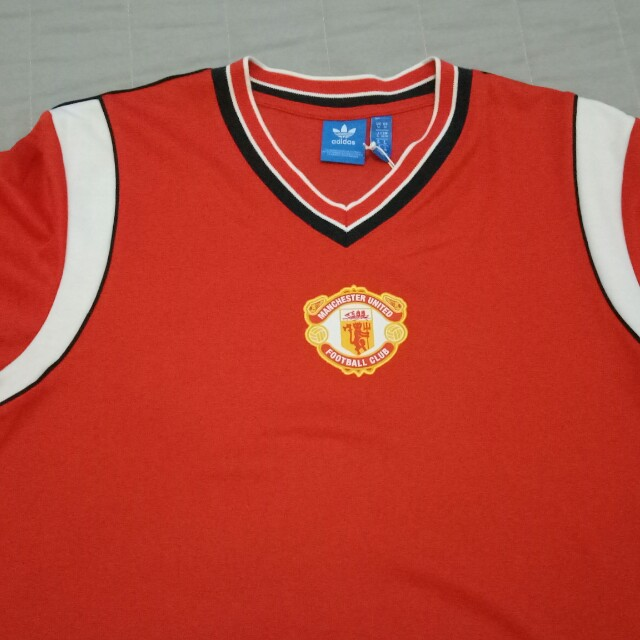 d41671f24 Adidas Manchester United 85  Jersey Red Rouge