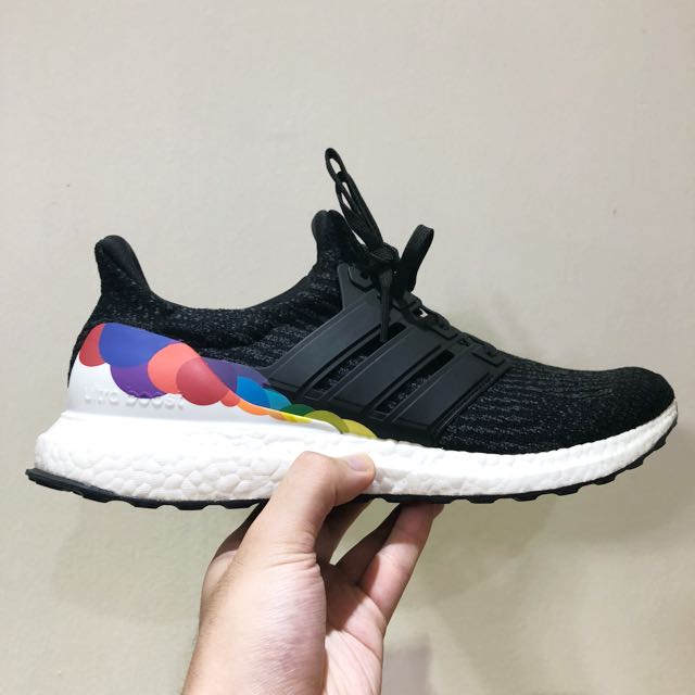 info for ad189 d5bd4 Adidas Ultra Boost Pride LGBT us 10.5, Mens Fashion, Footwear, Sneakers on  Carousell
