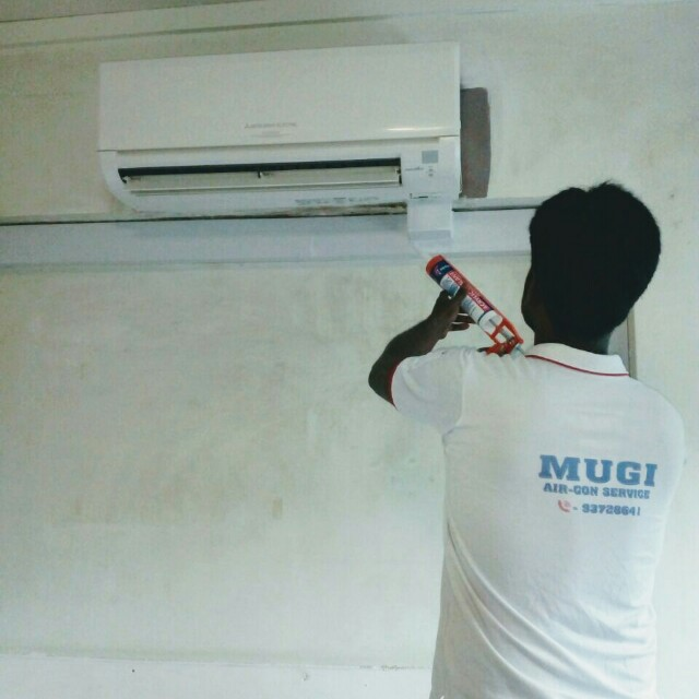 Air con installation
