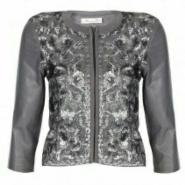 Alannah Hill leather jacket