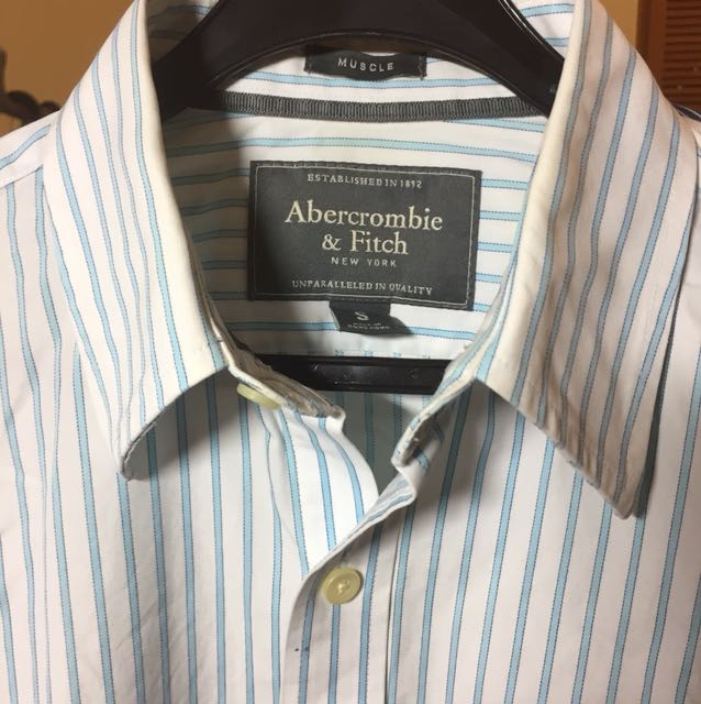 AnF Light blue Long sleeved shirt