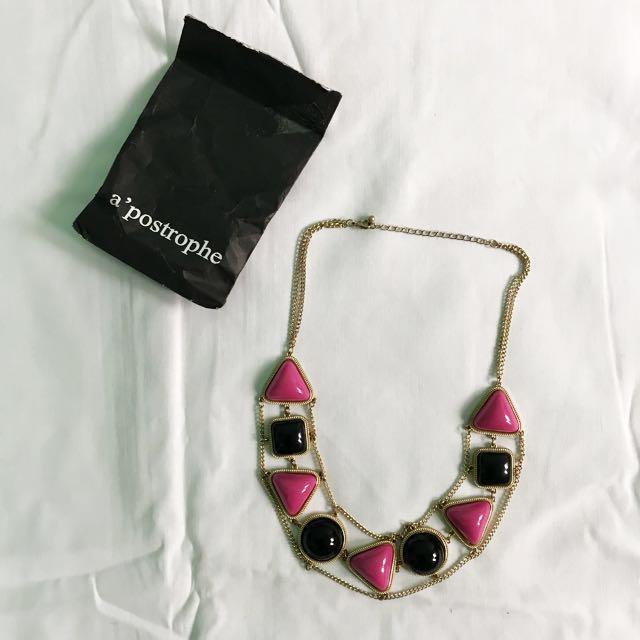 A'postrophe Necklace
