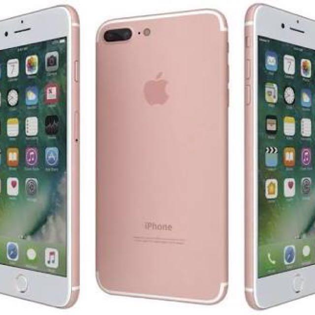 Apple iPhone 7 Plus (Rose Gold 32 GB)