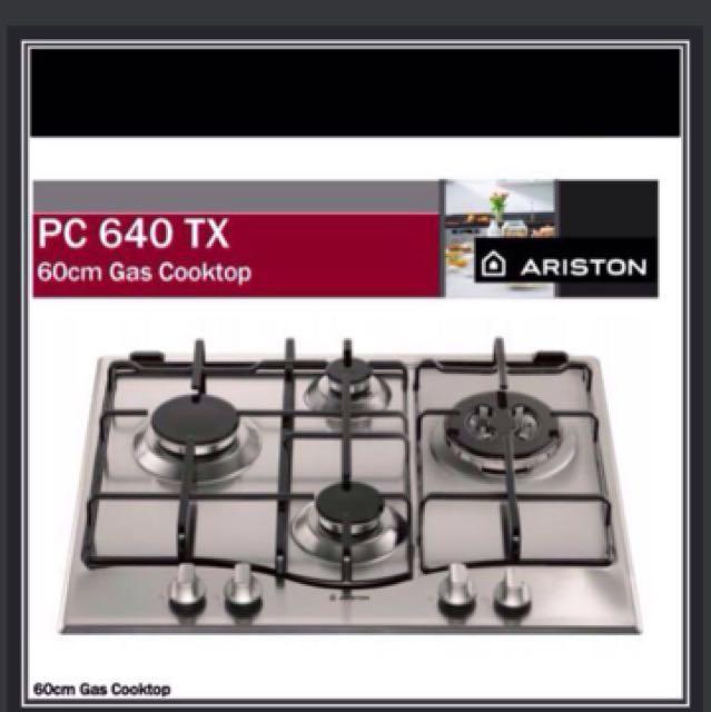 ariston pc 640 tx kitchen hob kitchen  u0026 appliances on carousell  rh   sg carousell com