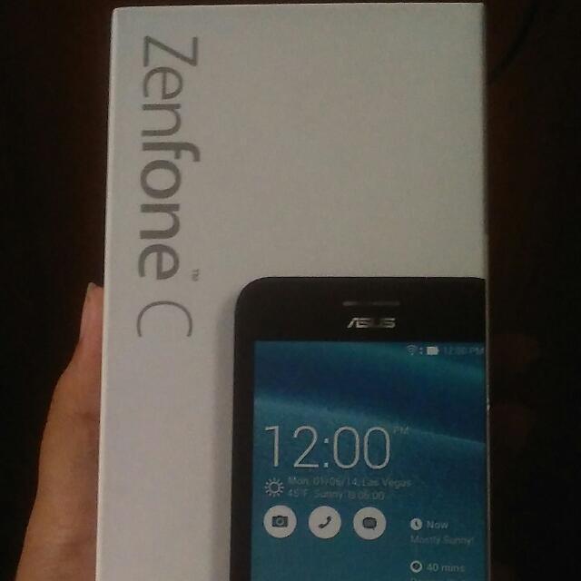 Hp Murah Asus Zenfone C FREE JELLY SOFTCASE