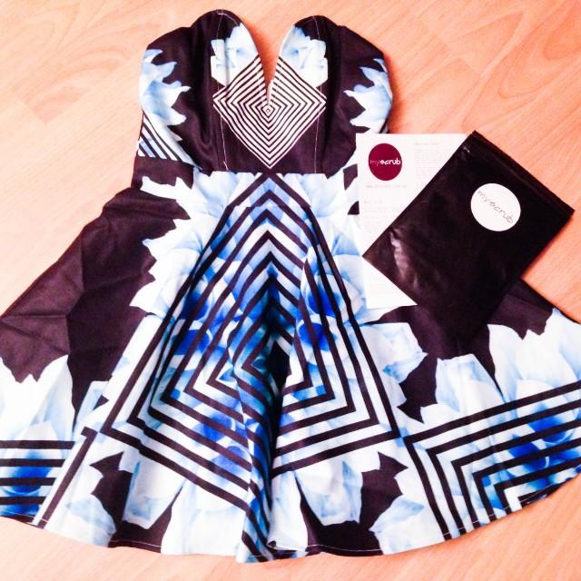 Aztec Bustier Dress