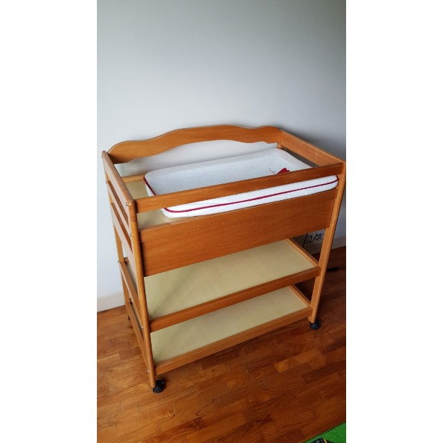 Baby Changing Table With Wheels On Carousell - Baby changing table requirements