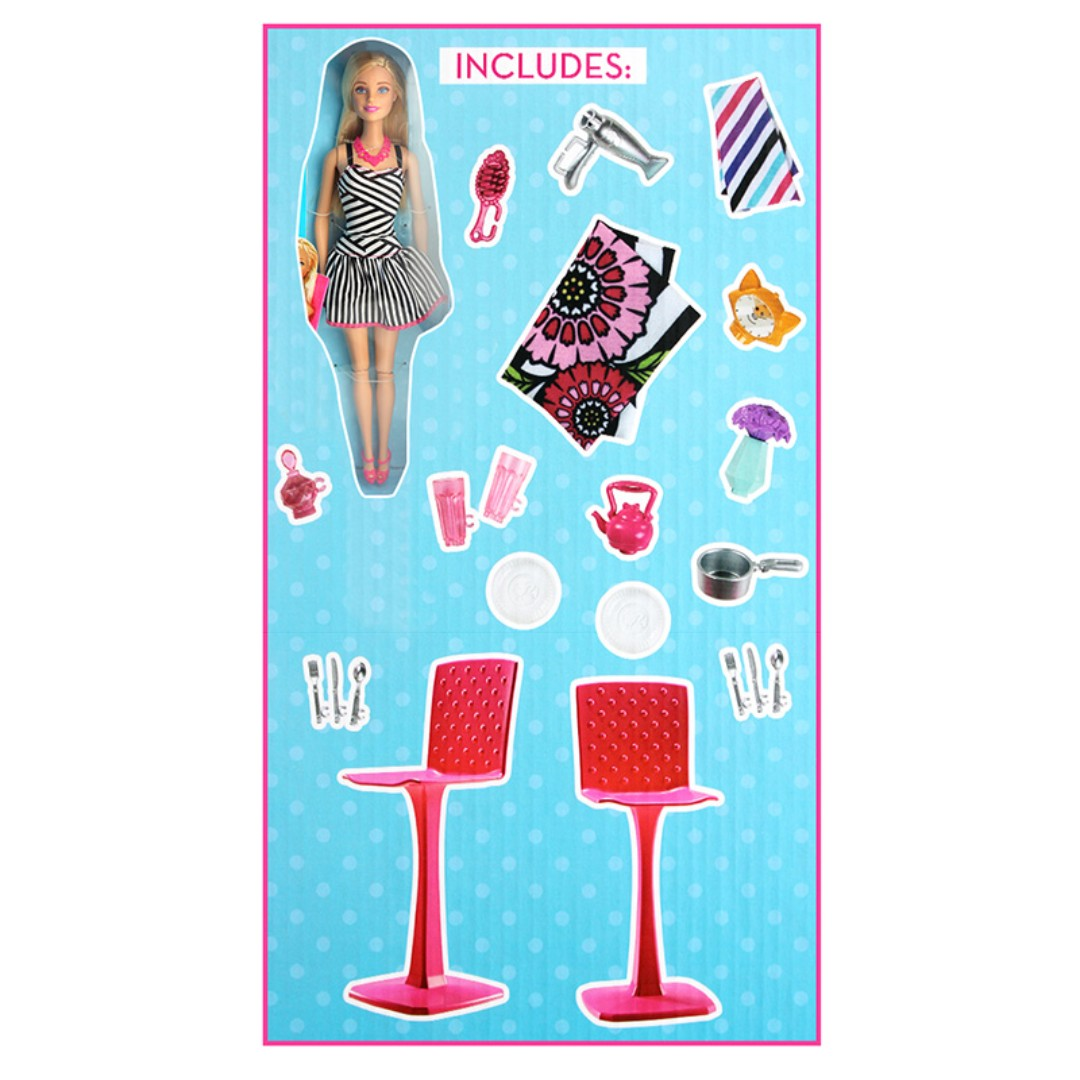Barbie® Glam Getaway® House with Doll, Toys & Games, Toys on Carousell