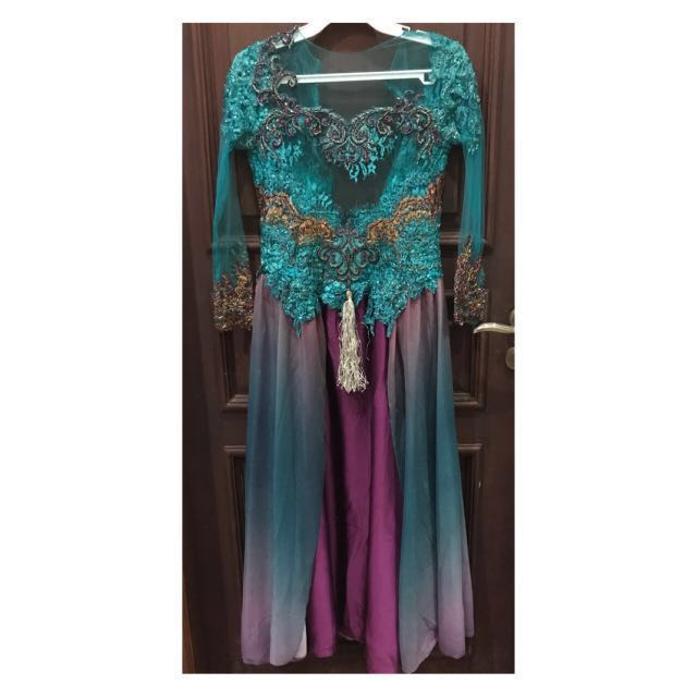 Beautiful gown (tosca purple and brown)