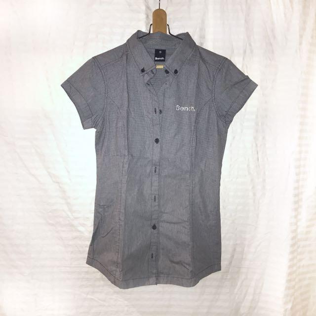 Bench gray polo shirt